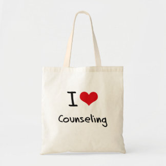 I love Counseling Tote Bag