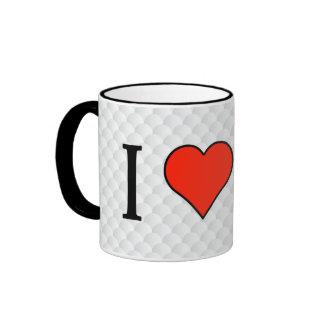 I Love Counting Money Ringer Mug