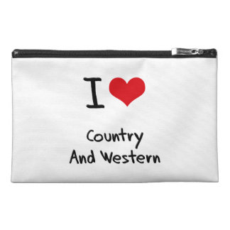 I love Country And Western Travel Accessories Bags