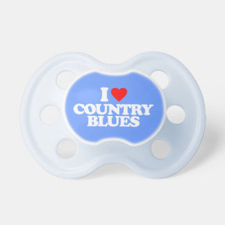 I LOVE COUNTRY BLUES PACIFIER