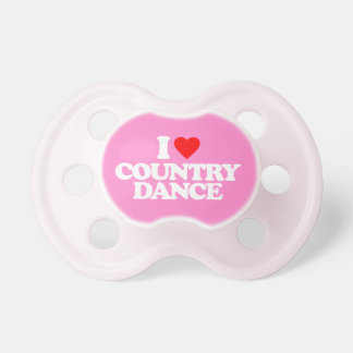 I LOVE COUNTRY DANCE BABY PACIFIER