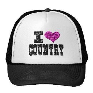 I Love Country Hats