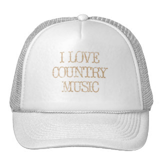 I Love Country Music Cap