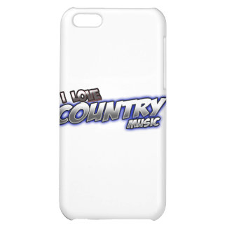 I Love COUNTRY music Cover For iPhone 5C