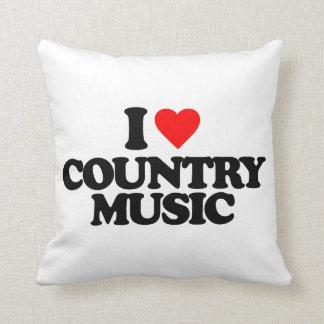 I LOVE COUNTRY MUSIC CUSHIONS