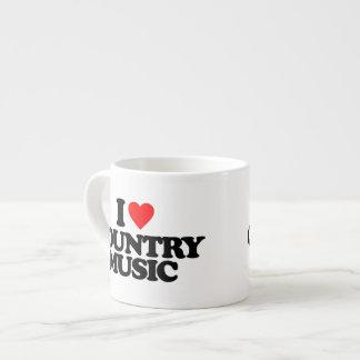 I LOVE COUNTRY MUSIC ESPRESSO MUG