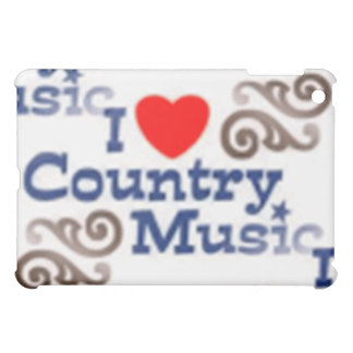I Love Country Music Case For The iPad Mini
