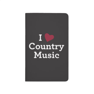 I Love Country Music Journals