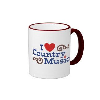 I Love Country Music Mug