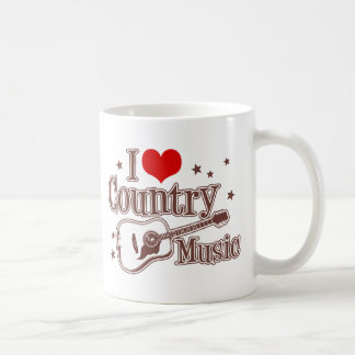 I Love Country Music Mugs