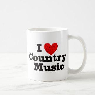 I Love Country Music Coffee Mug