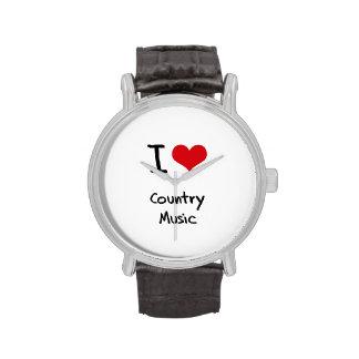 I love Country Music Wrist Watch