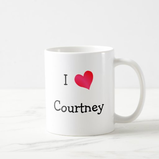I Love Courtney Mug