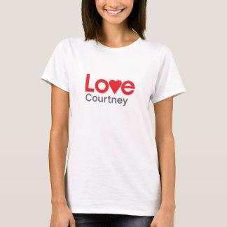 I Love Courtney T-Shirt
