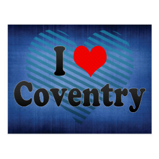 I Love Coventry, United Kingdom Postcard