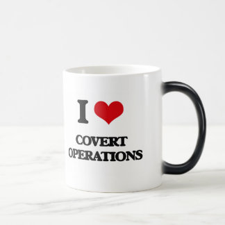 I love Covert Operations Magic Mug