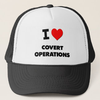 I love Covert Operations Trucker Hat