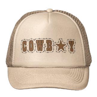 I Love Cowboys Western Cap