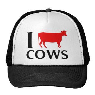 I Love Cows Mesh Hat