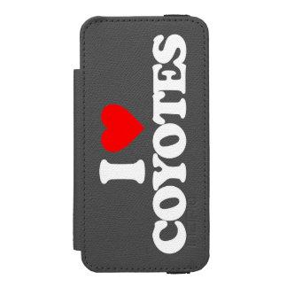 I LOVE COYOTES INCIPIO WATSON™ iPhone 5 WALLET CASE