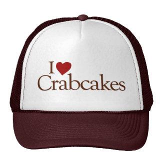 I Love Crabcakes Cap