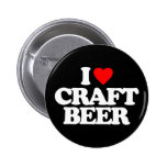 I LOVE CRAFT BEER PINS
