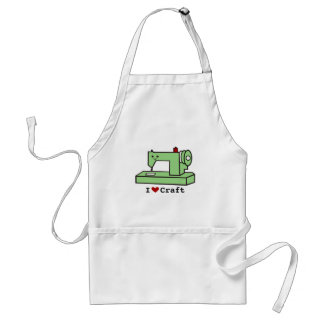 I Love Craft- Kawaii Sewing Machine Adult Apron