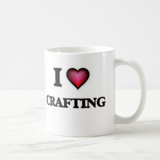 I love Crafting Coffee Mug