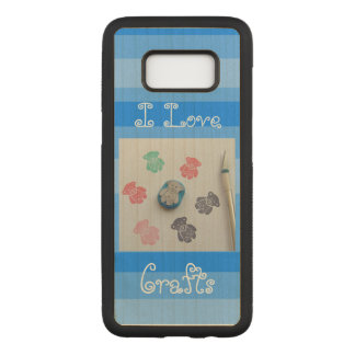 I love crafts samsung galaxy s8 case