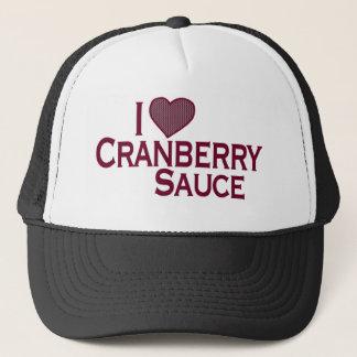 I Love Cranberry Sauce Trucker Hat