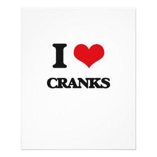 I love Cranks Flyer Design