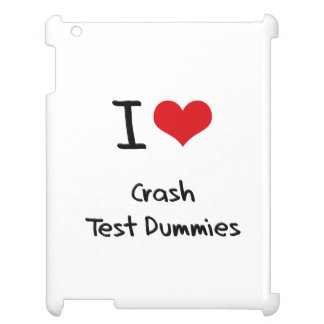 I love Crash Test Dummies iPad Covers