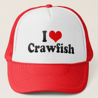 I Love Crawfish Trucker Hat