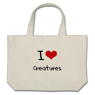 I love Creatures Tote Bag