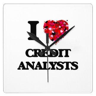 I love Credit Analysts Clock