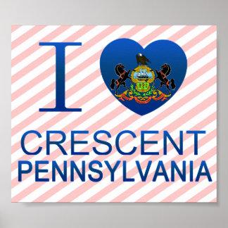 I Love Crescent, PA Poster