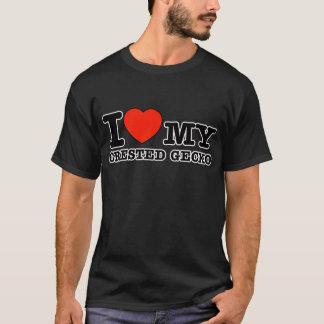 I Love crested gecko T-Shirt