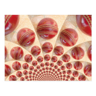 i Love Cricket Red Balls Customize Product Postcard