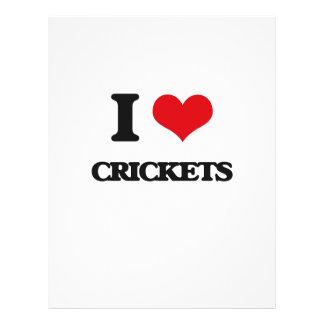 I love Crickets Flyers