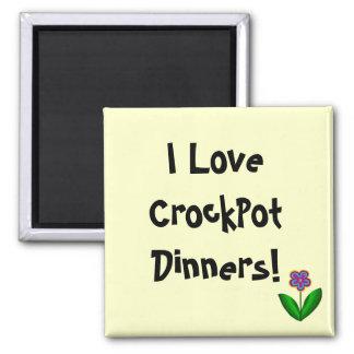 I Love CrockPot Dinners!- magnet