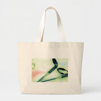 I Love Cross Country Skiing Tote Bags