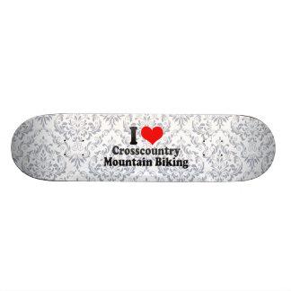 I love Crosscountry Mountain Biking Skate Board Deck