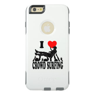 I Love Crowd Surfing (male) (blk) OtterBox iPhone 6/6s Plus Case
