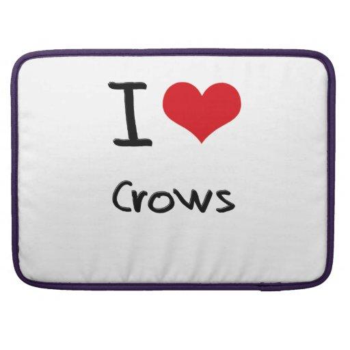 I love Crows MacBook Pro Sleeves