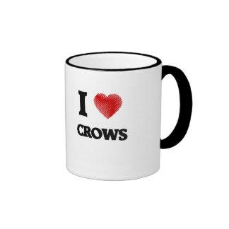 I love Crows Ringer Mug