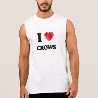 I love Crows Sleeveless T-shirt