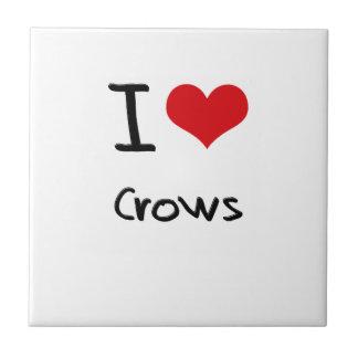 I love Crows Tile