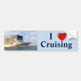 I Love Cruising N2 Bumper Sticker