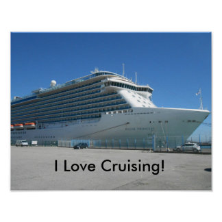 I Love Cruising Poster