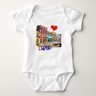 I love Cuba Baby Bodysuit